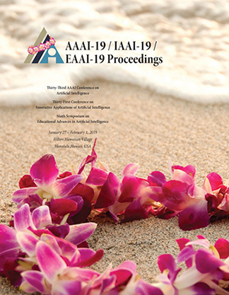 AAAI-19 Proceedings Cover