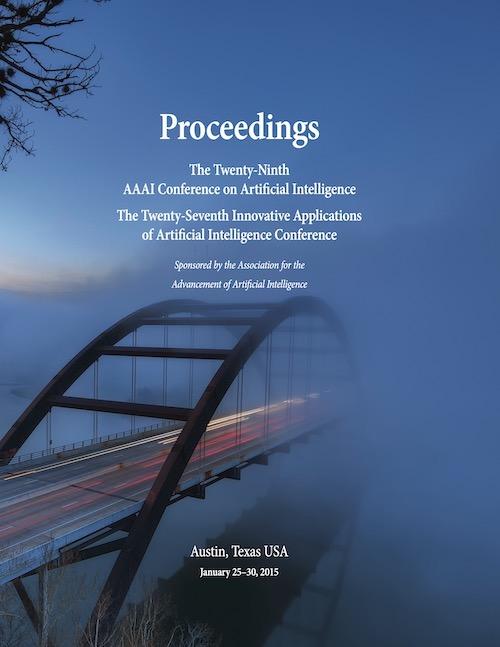 AAAI 2015 Proceedings Cover