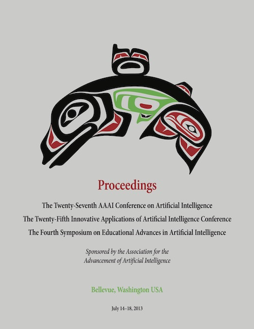 AAAI 2013 Proceedings Cover