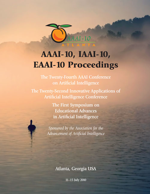 View Vol. 24 No. 1 (2010): Twenty-Fourth AAAI Conference on Artificial Intelligence