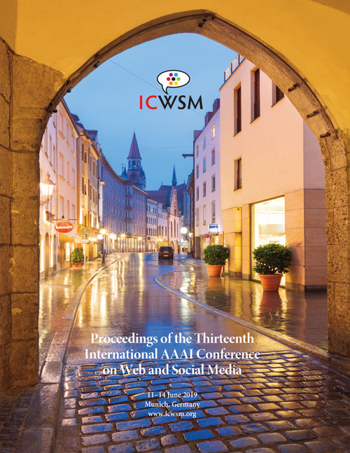 ICWSM-19 Cover