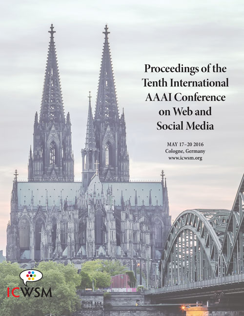ICWSM-2016 Cover