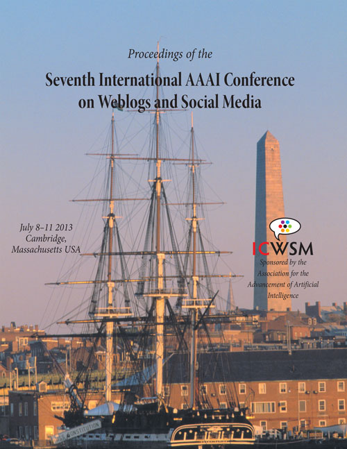 ICWSM-2013 Cover