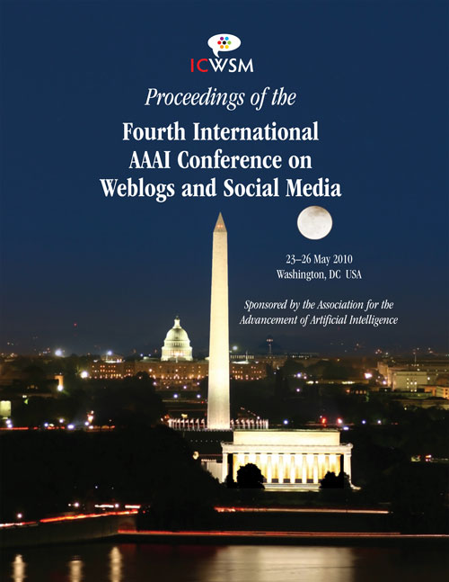 ICWSM-2010 Cover