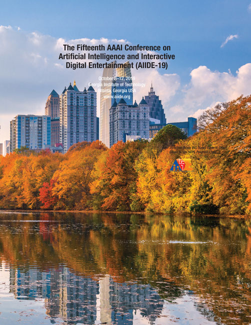 View Vol. 15 No. 1 (2019): Fifteenth AAAI Conference on Artificial Intelligence and Interactive Digital Entertainment
