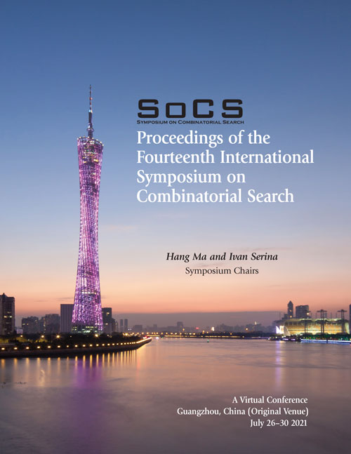 SoCS-2021 Proceedings Cover