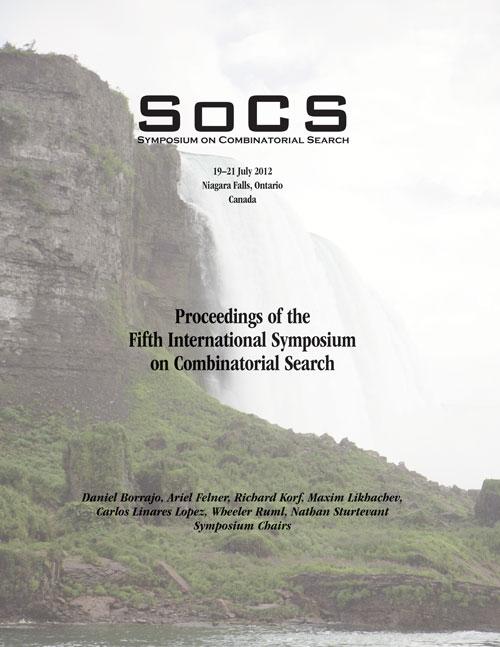 SoCS 2012 Proceedings Cover