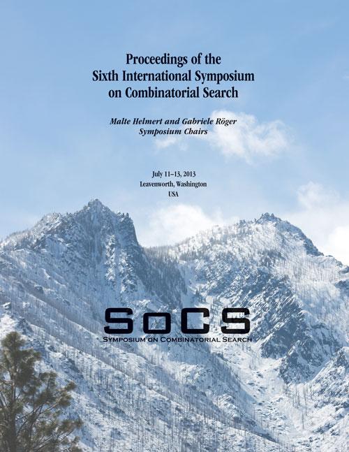 SoCS 2013 Proceedings Cover