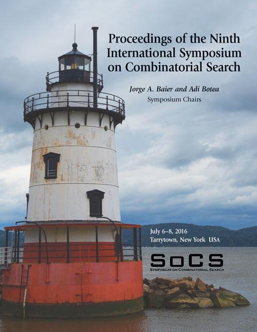SoCS 2016 Proceedings Cover