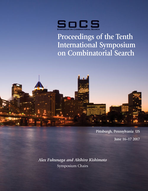 Socs 2017 Proceedings Cover