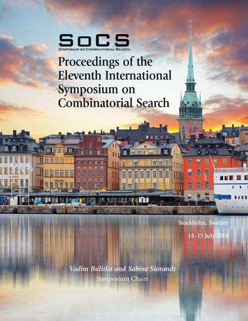 SoCS 2018 Proceedings Cover