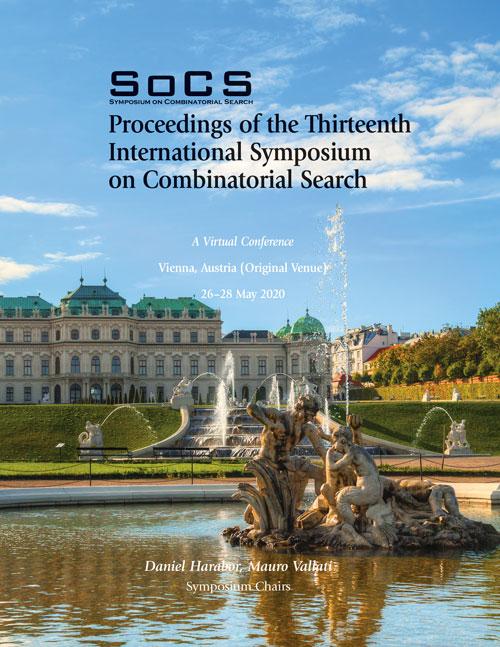 SoCS 2020 Proceedings Cover